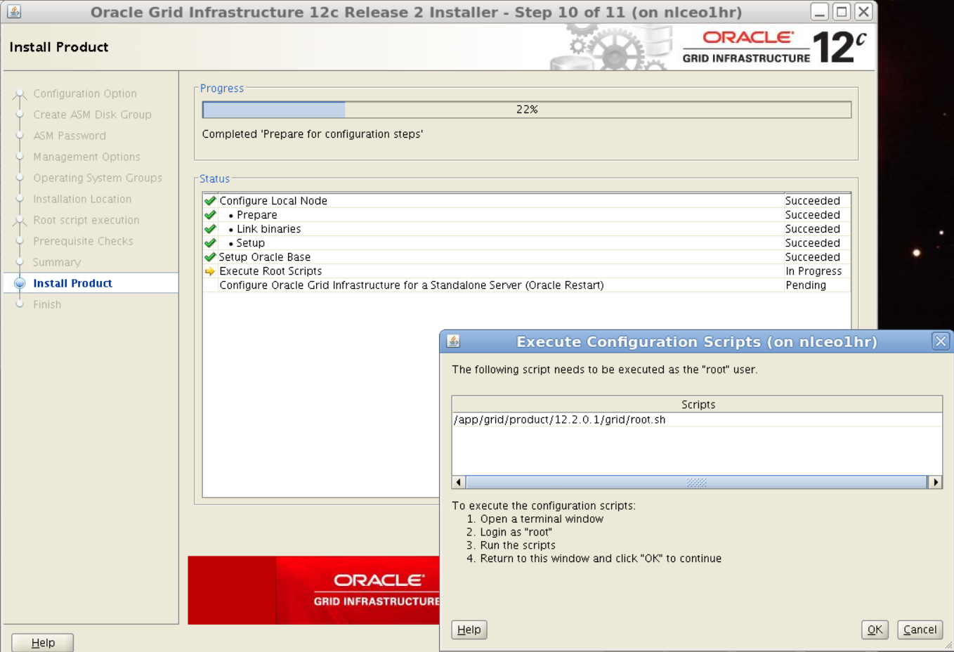 Install & Patch 12 2 GI in Oracle Restart | Mathijs Bruggink
